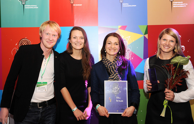 Two campaigns executed by Deep White awarded top prizes at the 2014 Baltic PR Awards competition