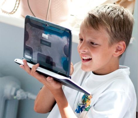 Самая успешная в Балтии инициатива социальной ответственности – осуществленная  Deep White программа Samsung – Школа будущего