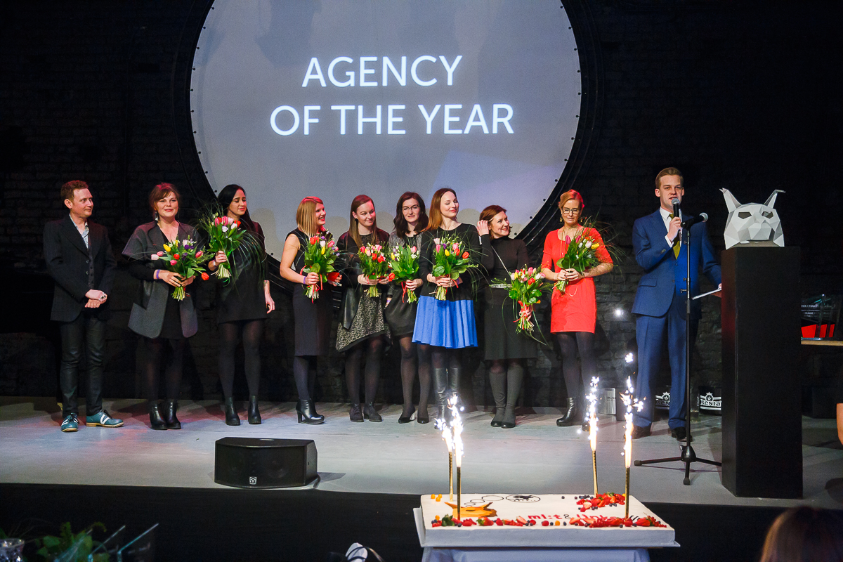 Deep White triumphs at Baltic PR Awards 2016 as AGENCY OF THE YEAR